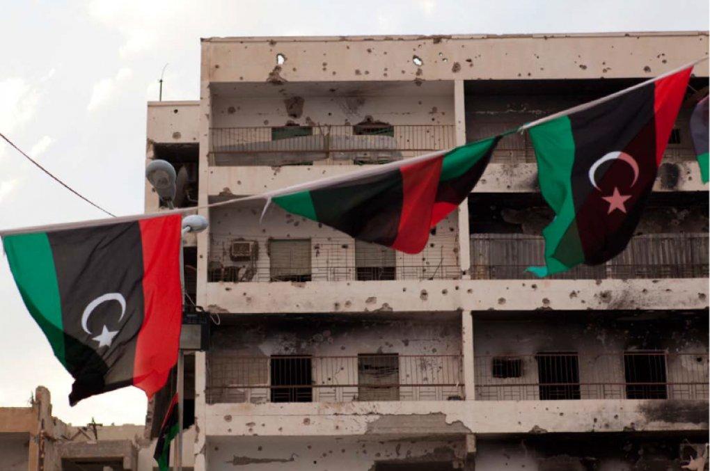 libyen-flaggen
